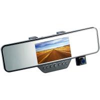 Videoregistrator, Full-HD im Rückspiegel mit Freisprecheinrichtung
